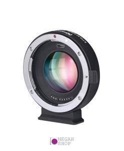 تبدیل لنزهای کانن EF به دوربین های M43 MFT 0.71X Booster برند Commlite