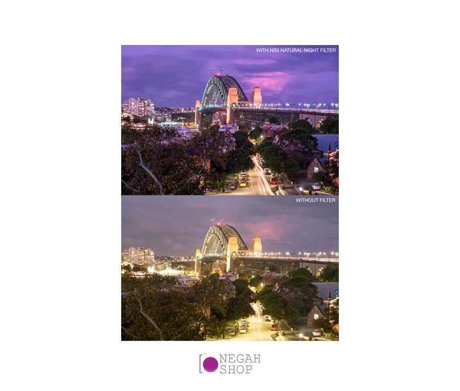 فیلتر لنز نیسی NiSi 150x150mm Natural Night Filter