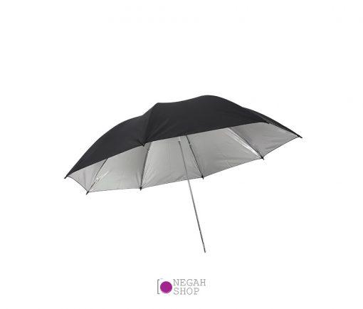 چتر داخل نقره ای 100 سانت کد 0013