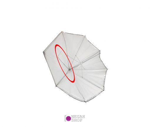 چتر دو لایه براق 100 سانت کد 0024