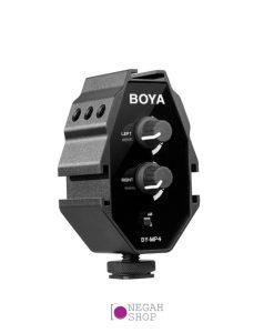 آداپتور صدا بویا Boya BY-MP4 Audio Adapter