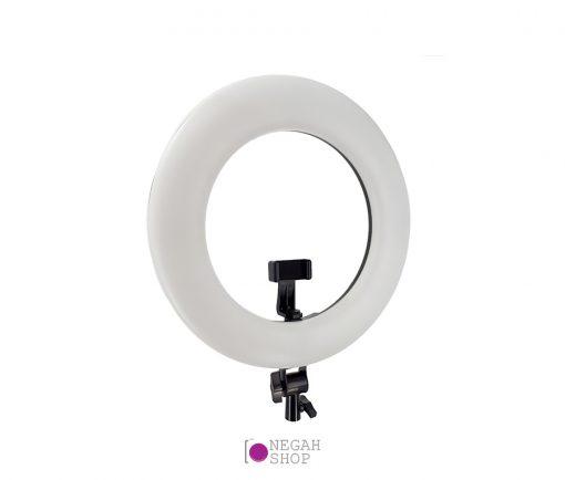 رینگ لایت عکاسی ریموت دار Ring Light Viltrox VL-600T با صفحه نمایش و باتری و شارژر