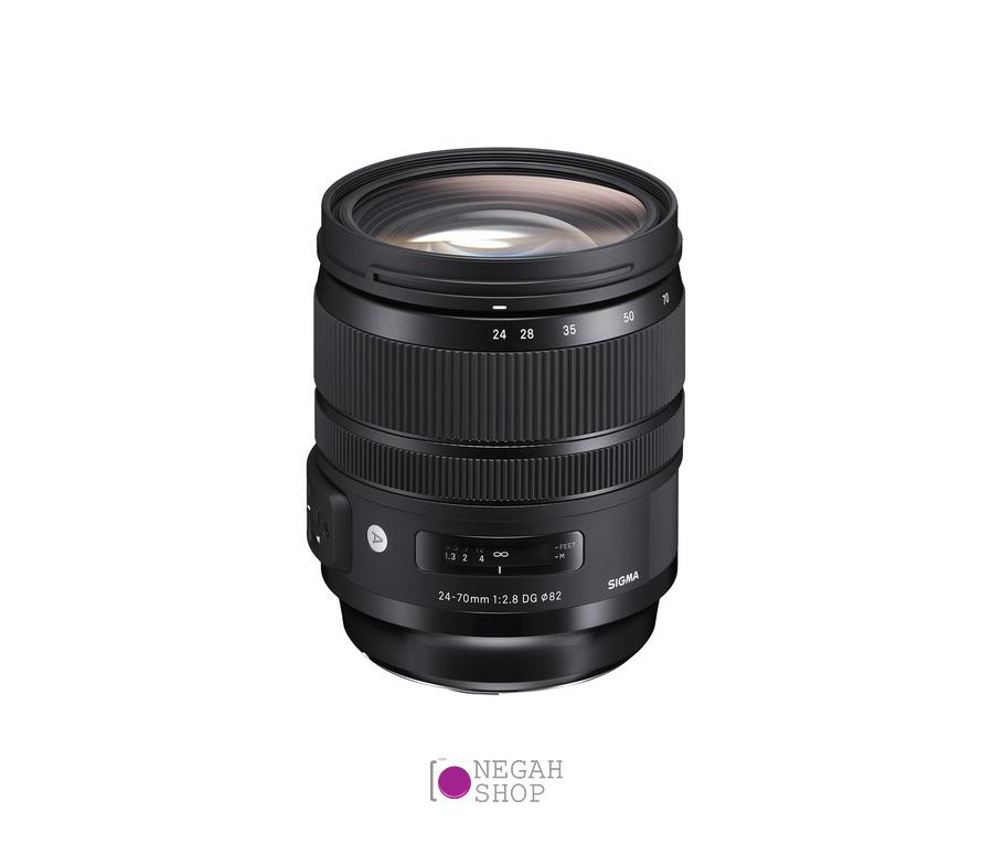 لنز زوم سیگما Sigma 24-70mm F2.8 DG OS HSM Art برای نیکون
