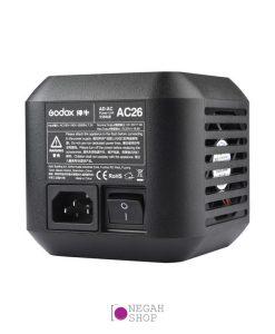 آداپتور برق گودکس Godox AC-26 برای فلاش Godox AD600 Pro