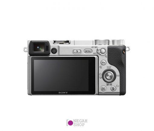 دوربین دیجیتال عکاسی سونی مدل Sony Alpha A6400 16-50mm نقره ای