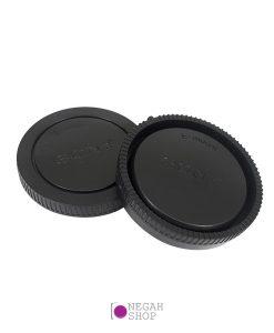 درب پشت لنز و بدنه Sony