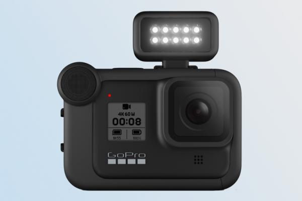 گوپرو همراه نور LED امسال وارد بازار شد
