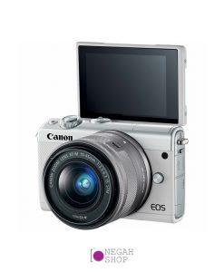 دوربین عکاسی بدون آینه کانن Canon EOS M100 EF-M 15-45mm IS STM (سفید)