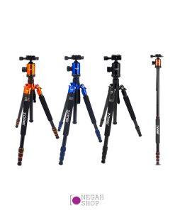 سه پایه دوربین عکاسی مونوپاد دار Zomei Z818