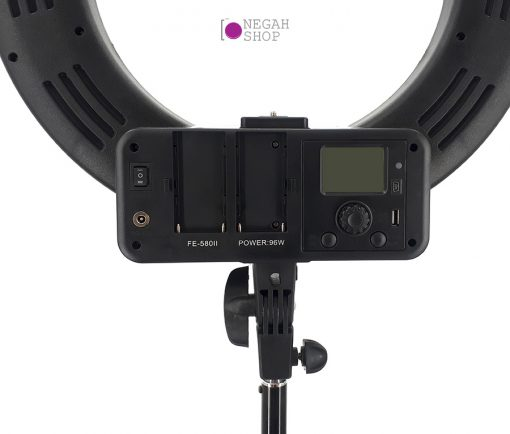 رینگ لایت عکاسی Ring Light FE 580 II با صفحه نمایش