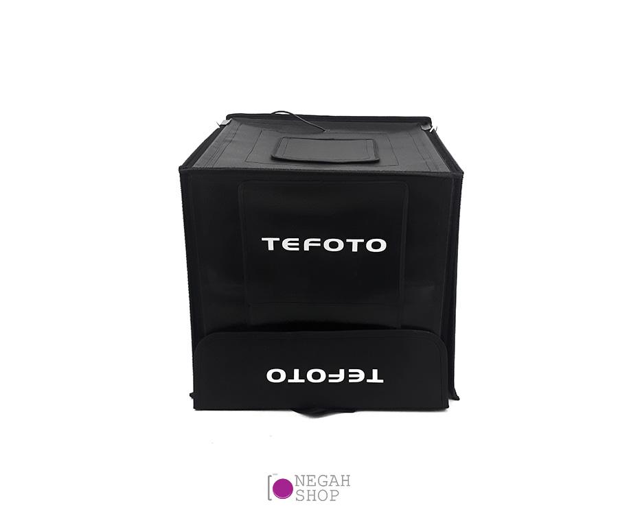 لایت باکس عکاسی دیمر دار Tefoto Light Box 50cm
