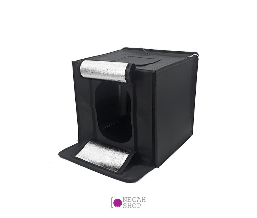 لایت باکس عکاسی دیمر دار (Tefoto Light Box 50cm (Plus