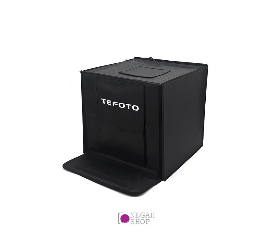 لایت باکس عکاسی دیمر دار (Tefoto Light Box 60cm (Plus