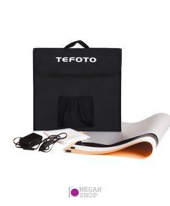 لایت باکس عکاسی دیمر دار Tefoto Light Box 70cm