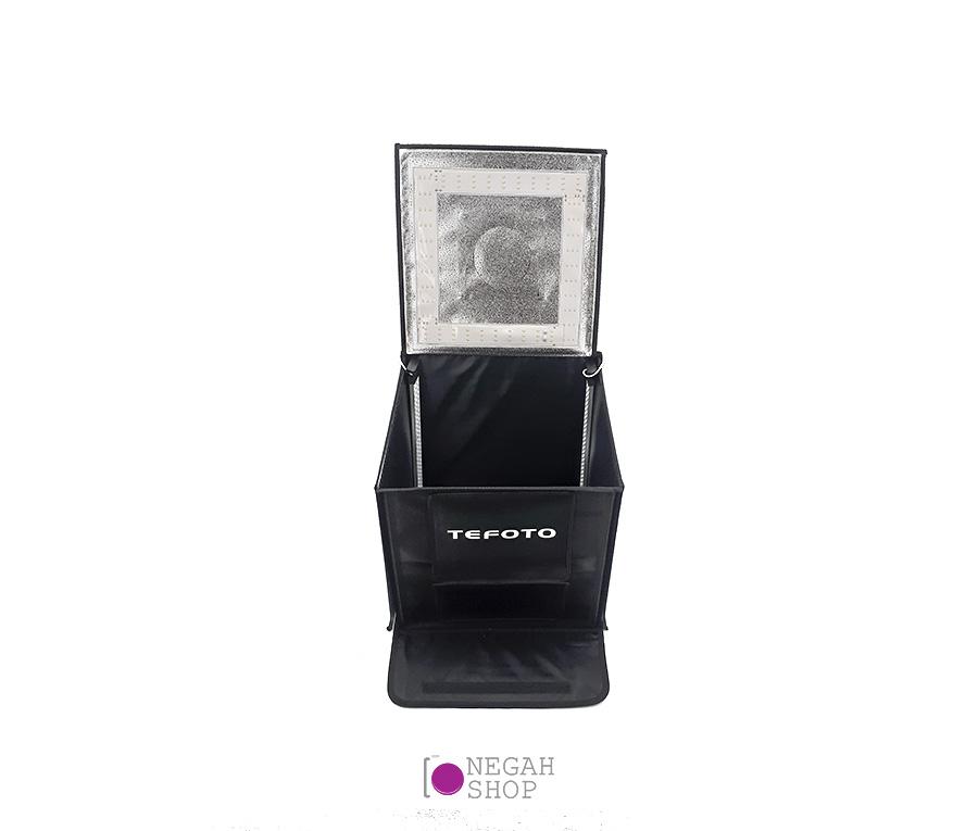 لایت باکس عکاسی دیمر دار (Tefoto Light Box 70cm (Plus