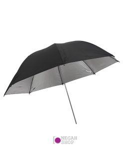 چتر داخل نقره ای 100 سانتی متر