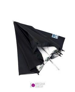 چتر داخل نقره ای 90 سانت S&S دو لایه
