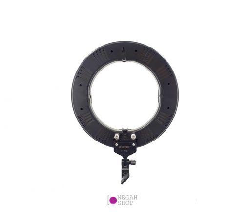 رینگ لایت عکاسی یک نورLED حلقه ای با کیفیت،مناسب برای عکاسی تبلیغاتی، پرتره و مدلینگ و آرایشگران می باشد.