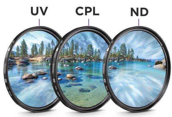 راهنمای خرید فیلتر های لنز دوربین