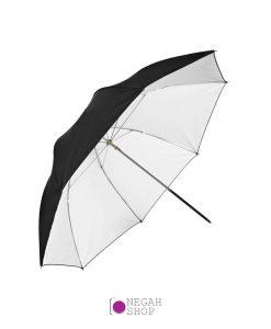 چتر داخل سفید لایف Life 102cm S-34