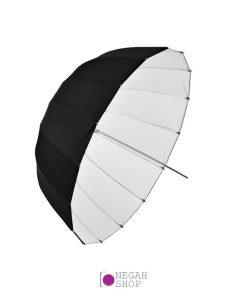 چتر عمیق پارابولیک داخل سفید لایف Life 160cm AU48SX
