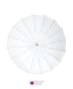 چتر عمیق پارابولیک داخل سفید لایف Life 85cm AU48SX