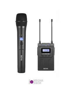 کیت میکروفون بی سیم Boya WHM8 Pro به همراه گیرنده Boya BY-RX8 Pro