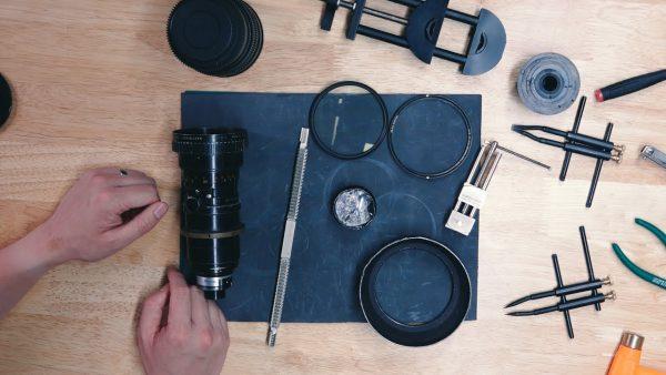 تعمیر لنز دوربین