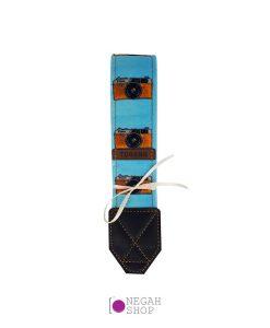بند دوربین دست ساز ترنگ مخمل کد T302
