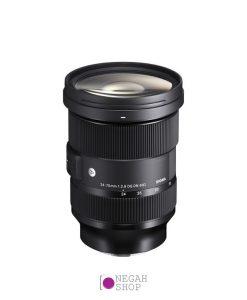 لنز زوم سیگما Sigma 24-70mm f2.8 DG DN Art برای سونی