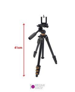 سه پایه دوربین عکاسی بیک Beike 161A به همراه ریموت