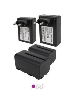 باتری و شارژر رینگ لایت عکاسی