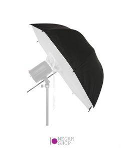 چتر باکس داخل نقره ای 100 سانتی متر