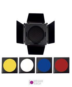 شیدر 4 فیلتر رنگی لایف مدل Life FF210G