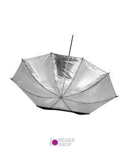 چتر براق داخل نقره ای اس اند اس S&S 80cm