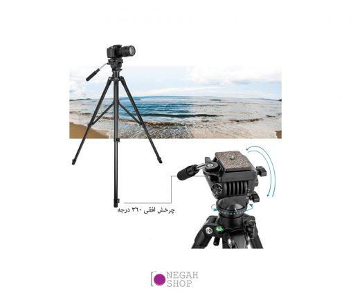 سه پایه فیلم برداری زومی مدل Zomei VT-555