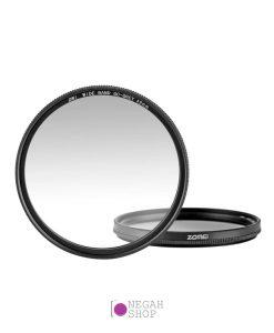 فیلتر رنگی تدریجی خاکستری Zomei Ultra Slim GC-Gray Gradient
