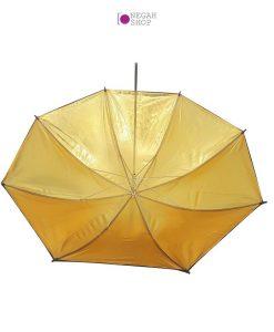 چتر داخل طلایی دو لایه S&S 90cm
