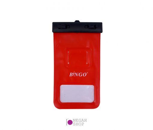کاور ضدآب موبایل به همراه قطب نما Bingo 6 inch