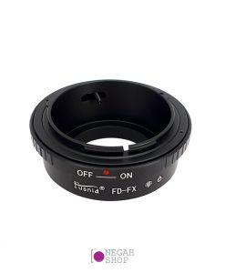 تبدیل لنزهای آنالوگ FD به دوربین های فوجی FX برند Fusnid