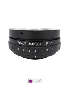 تبدیل لنزهای M42 به دوربین های فوجی FX برند Fusnid