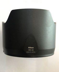 هود لنز نیکون مدل Nikon HB-40 اصلی دست دوم